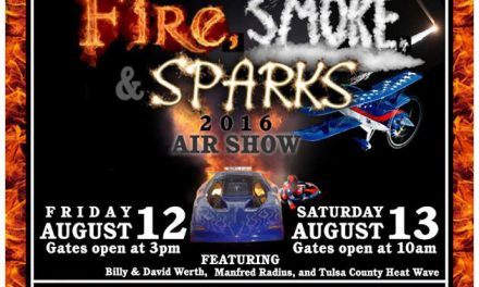 Fire, Smoke & Sparks Air Show 2016 – Clarion, PA